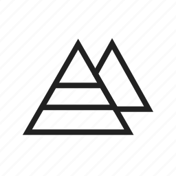 ancient, architecture, cairo, egypt, egyptian, pyramid, pyramids icon
