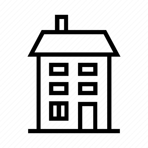 building, home, house, small, stages icon