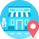 booth, food stand, location, shop, shopping, stall icon