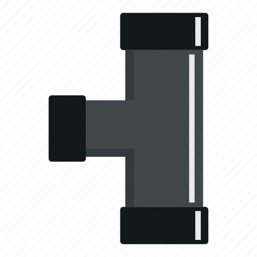 flange, industrial, pipe, plumbing, pvc, tube, water icon