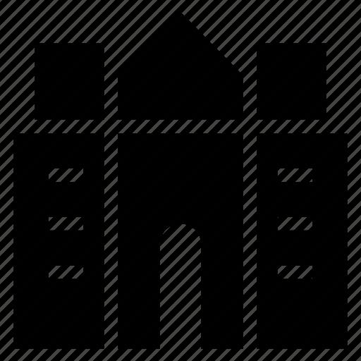 apartment, architecture, building, city, commercial, estate, property icon