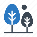 gardent, green, nature, park, trees icon