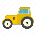 agricultural, agronomy, equipment, farm, machinery, tractor, vehicle icon