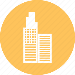building, city, hotel, place icon