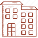 building, company, corporation, office icon