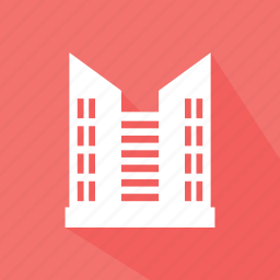 building, commercial, hotel, hotel building, hotel flats icon