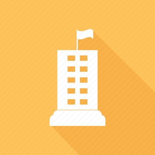building, estate, hotel, real icon