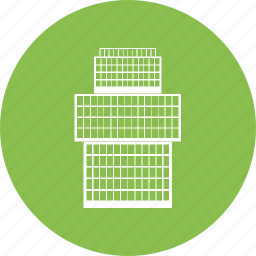 building, business, city, office, town icon