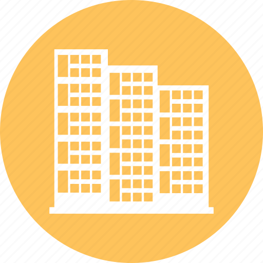 Building apartments, buildings, residential, residential building icon - Download on Iconfinder