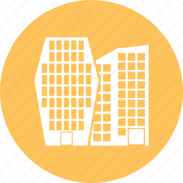 building, city, office, skyline, town icon