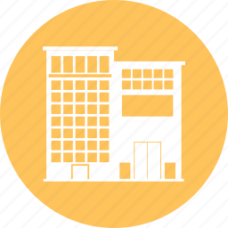 building, cityscape, office, town icon