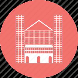 berlin, building, cathedral, landmark icon