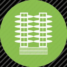 building, real estate icon
