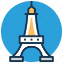 champ de mars, eiffel tower, france, world's fair, wrought iron lattice tower icon