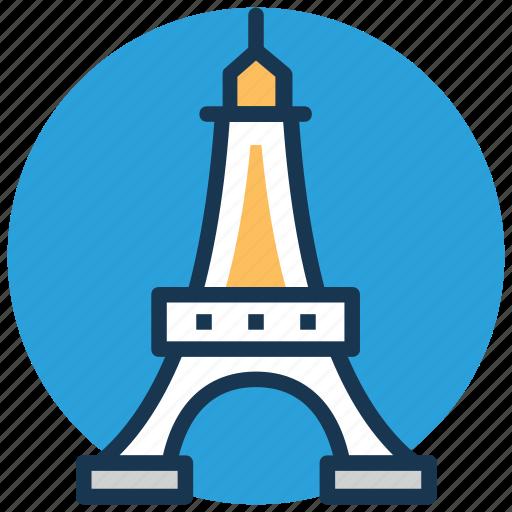 champ de mars, eiffel tower, france, world's fair, wrought iron lattice tower icon