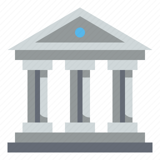 bank, buildings, classical, cultures, museum icon