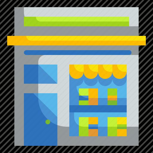 architecture, book, bookshop, shop, store icon