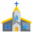 architecture, buildings, christianity, church, cultures icon