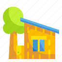 buildings, cottage, home, house, property