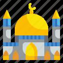 architecture, buildings, mosque, muslim, temple icon
