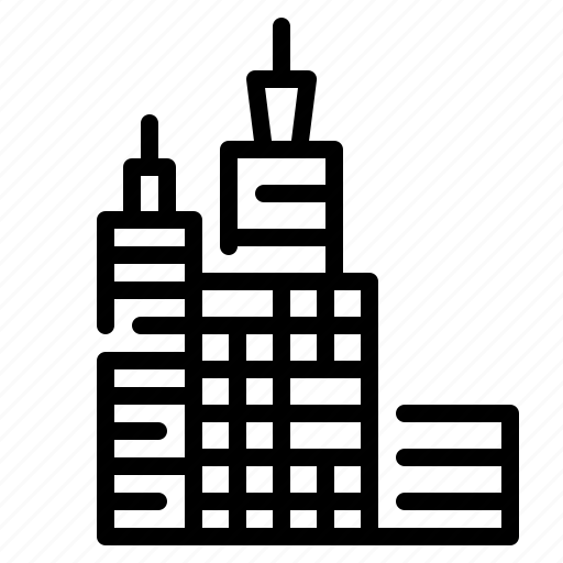 architecture, big, buildings, city, tower icon
