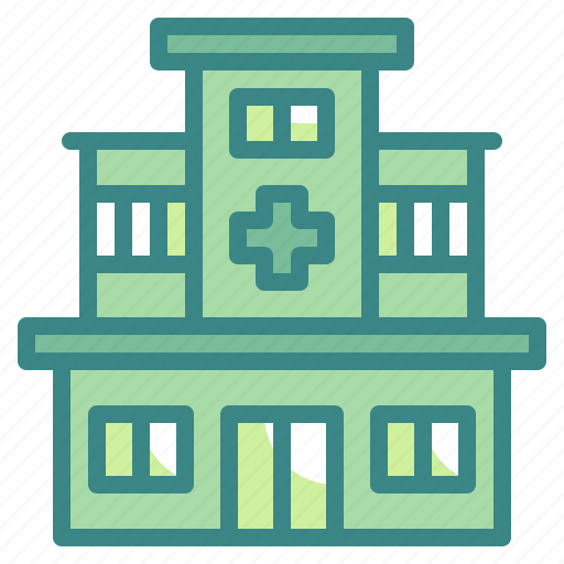 architecture, clinic, healthcare, hospital, medical icon