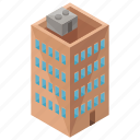 apartment, architecture, building, estate, house icon