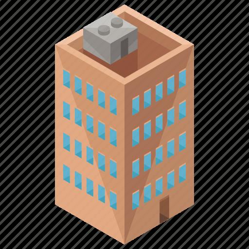 apartment, architecture, building, estate, house icon