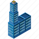 apartment, architecture, building, city, estate, skyscraper icon