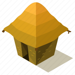 architecture, building, camp, camping, hut icon