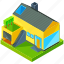 building, estate, garage, home, house, modern, real icon