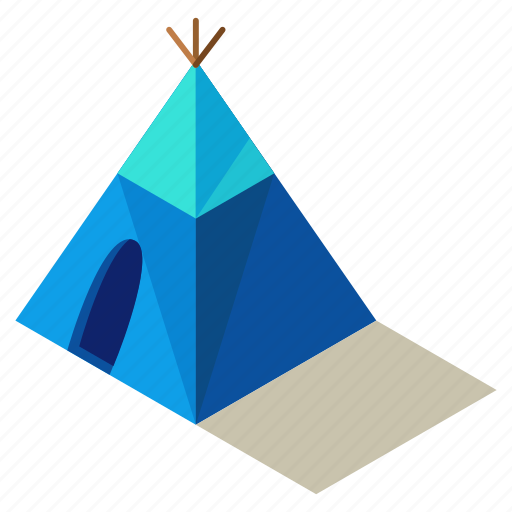 building, camp, camping, native, outdoor, tent icon