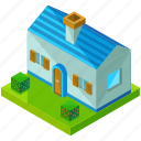 architecture, building, country, estate, home, house, real icon