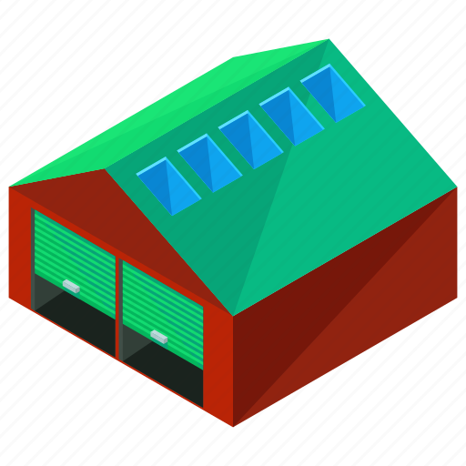 architecture, building, house, storage, warehouse icon
