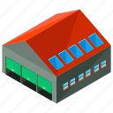 architecture, building, estate, storage, warehouse icon