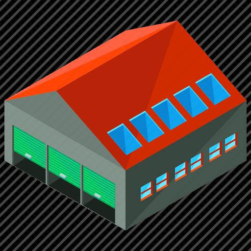 architecture, building, estate, storage, warehouse icon