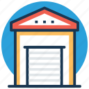 godown, storage unit, store, storehouse, warehouse icon
