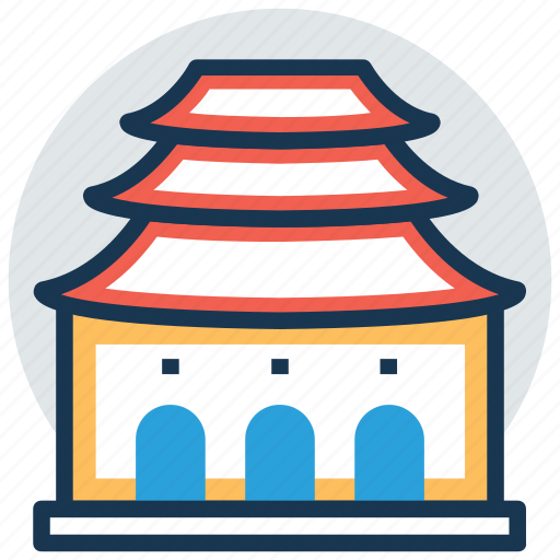 chapel, house of worship, shrine, synagogue, temple icon
