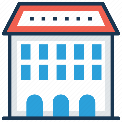building, family house, home, house, mansion icon