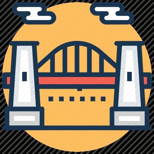 hellgate bridge astoria, new york astoria bridge, new york railroad bridge, queens astoria bridge, the east river arch bridge icon