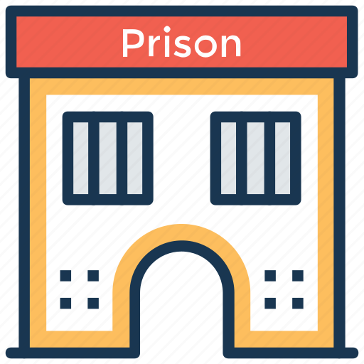 correctional facility, jail, jail cell, lock up, prison icon