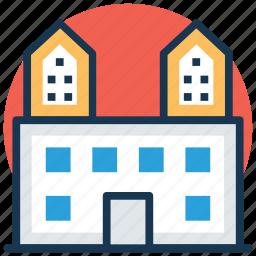 municipal building in oslo, norway, oslo, oslo city hall, oslo rådhus icon