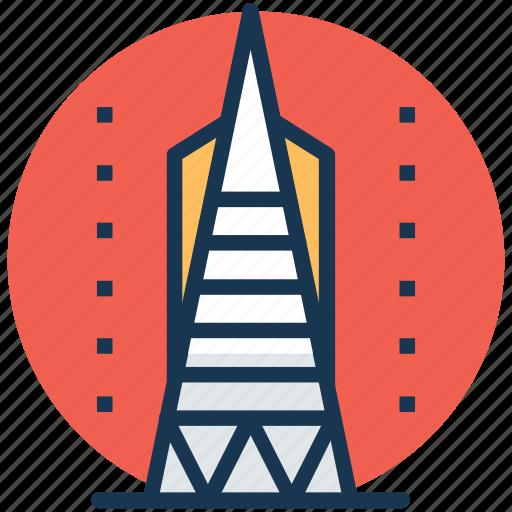 california, san francisco, san francisco city skyline, tallest buildings in san francisco, united states icon