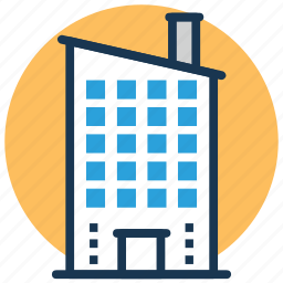 commercial building, company, head office, headquarters, office block icon