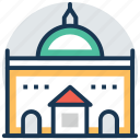 amalienborg palace, church of denmark, frederik's church, royal history, the marble church icon