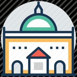 amalienborg palace, church of denmark, frederik's church, royal history, the marble church icon