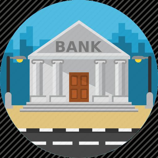bank, building, construction, economy, money, savings icon