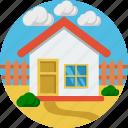 building, estate, home, house