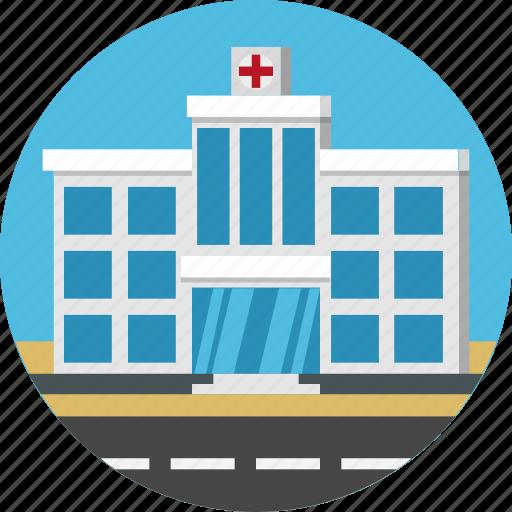 building, healthcare, hospital, medical icon