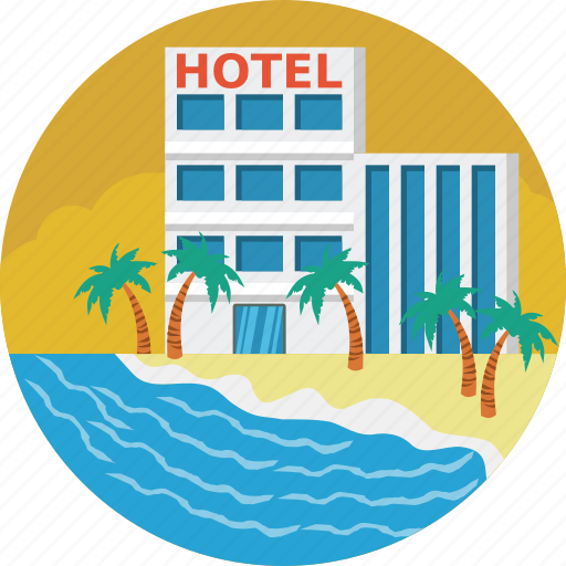 building, food, home, hotel icon